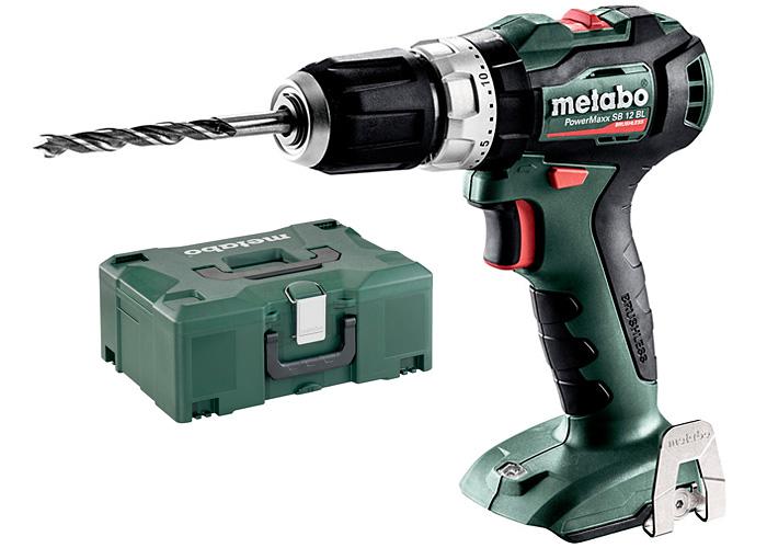 Аккумуляторный шуруповерт METABO PowerMaxx SB 12 BL Каркас + MetaLoc