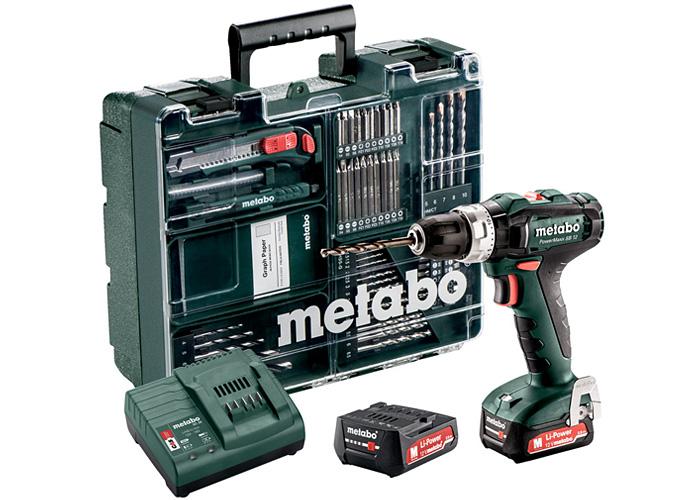 Аккумуляторный шуруповерт METABO PowerMaxx SB 12 Set Mobile Workshop