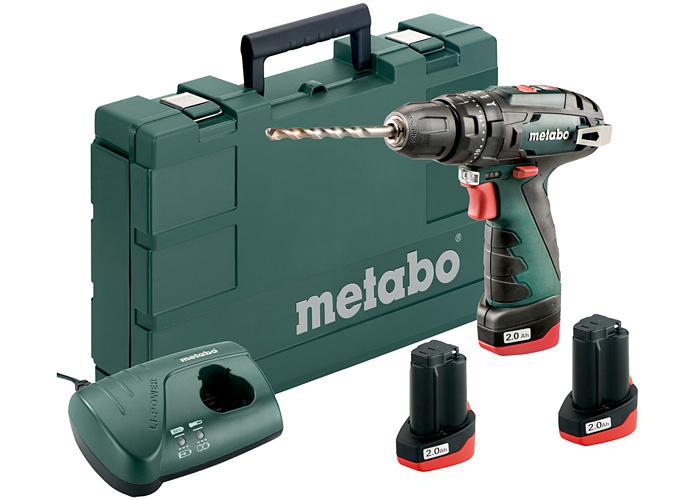 Аккумуляторный шуруповерт METABO PowerMaxx SB Basic Set 3