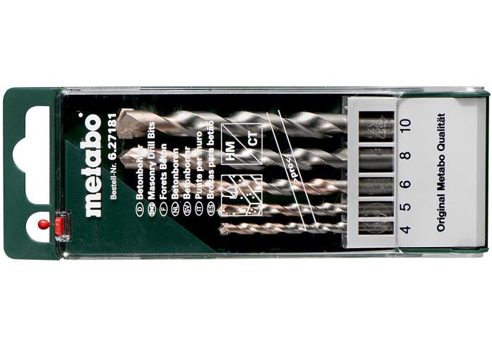 Набор сверл METABO Pro (5 шт.)