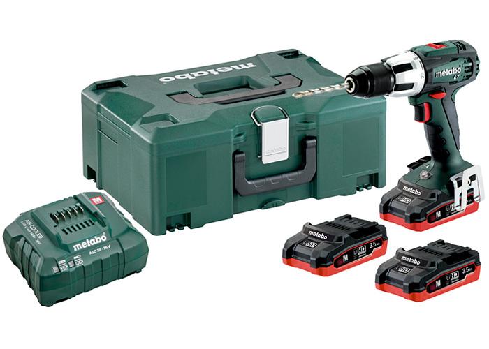 Аккумуляторный шуруповерт METABO SB 18 LT LiHD Set