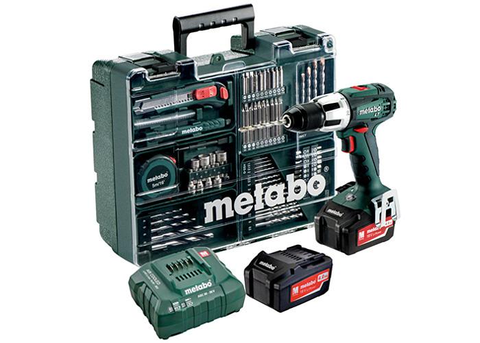 Аккумуляторный шуруповерт METABO SB 18 LT Set