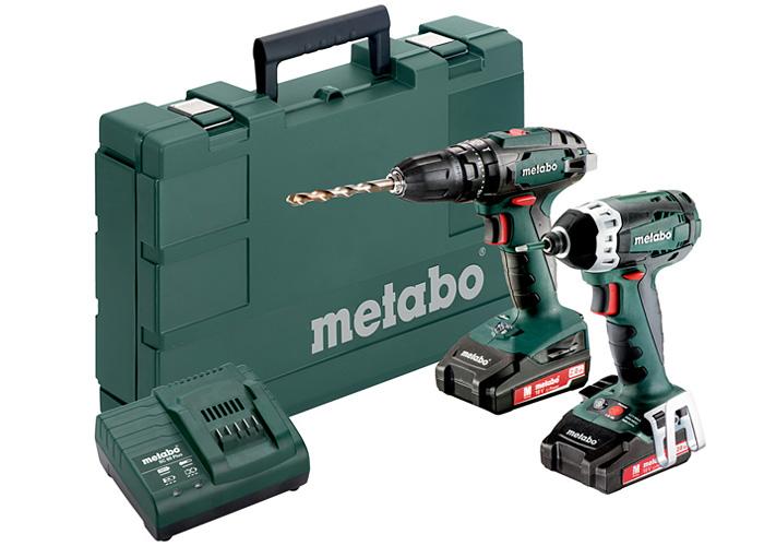 Набор инструментов METABO Combo Set 2.1.8 18 V