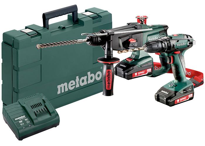 Набор инструментов METABO Combo Set 2.3.4 18 V
