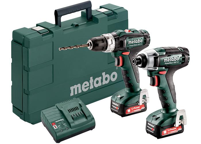 Набор инструментов METABO Combo Set 2.7.2 12 V