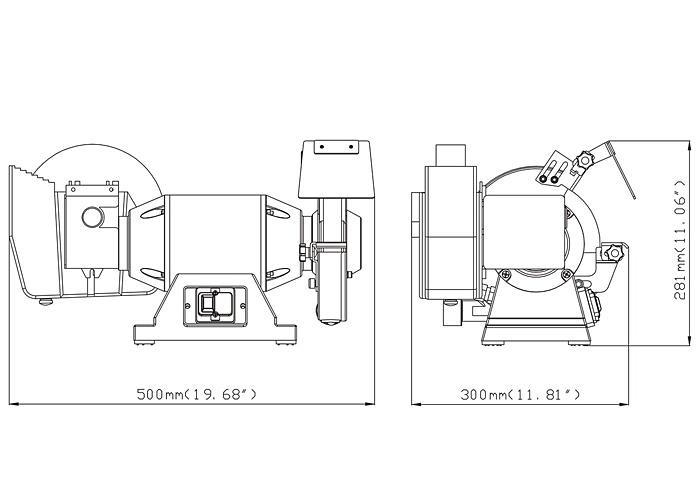 Точильный станок  METABO TNS 175
