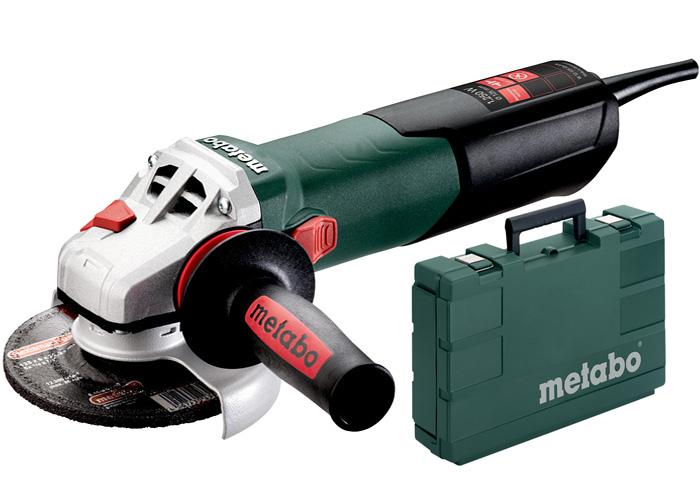 Болгарка METABO W 12-125 Quick (ЗПП) + кейс
