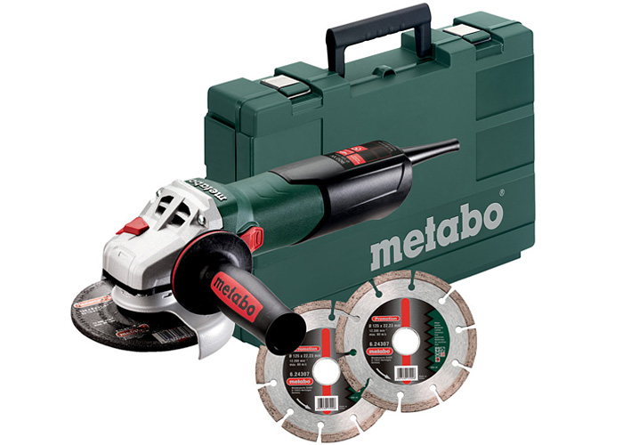 Болгарка METABO W 9-125 Quick Set