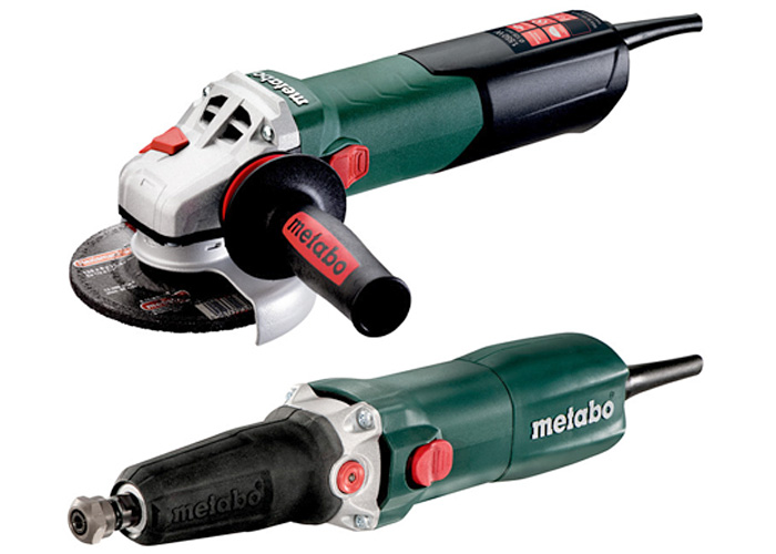 Болгарка METABO WEA 15-125 Quick + GE 710 Plus Set
