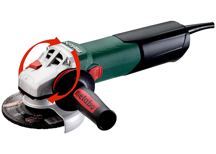 Болгарка METABO WEV 17-125 Quick