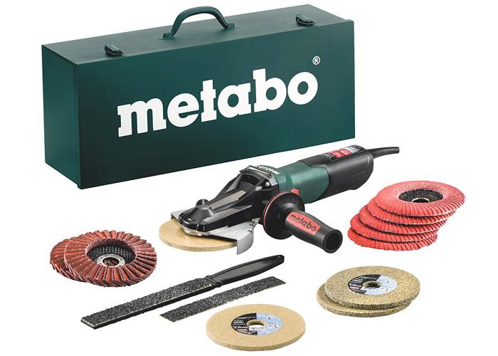 Болгарка METABO WEVF 10-125 Quick Inox Set
