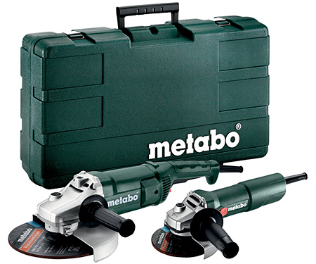 Болгарка METABO WE 2200-230 + W 750-125 + Case