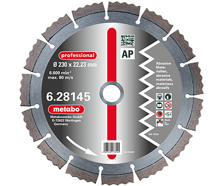 Алмазный круг  METABO Professional AP 180 мм (628144000)