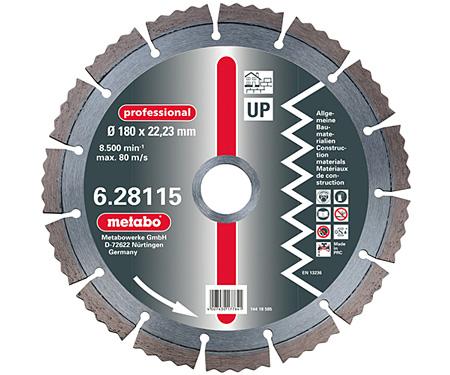 Алмазный универсальный круг  METABO Professional UP 180 мм (628115000)