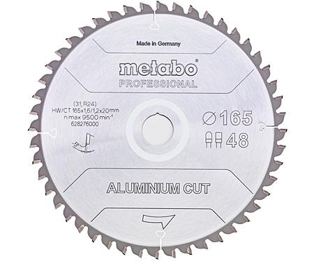 Пильный диск METABO Aluminium Cut Prof 190 мм (628296000)