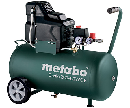 Безмасляный компрессор METABO Basic 280-50 W OF