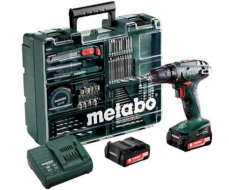 Аккумуляторный шуруповерт METABO BS 14,4 Set