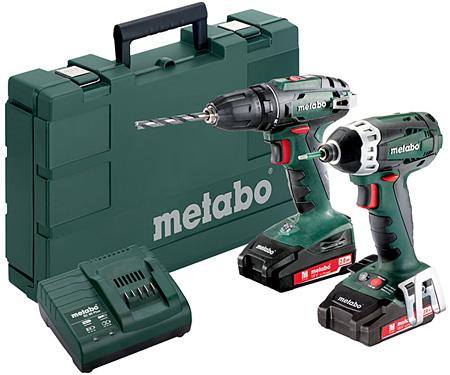 Набор инструментов METABO Combo Set 2.1.7 18 V