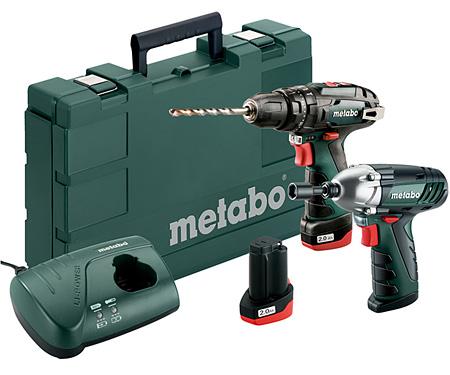 Набор инструментов METABO Combo Set 2.5 10.8 V