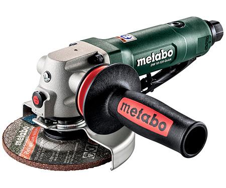Пневматическая угловая шлифмашина METABO DW 10-125 Quick