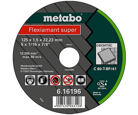 Отрезной круг  METABO Flexiamant super 115 мм (616195000)