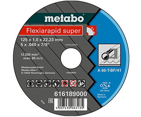 Отрезной круг  METABO Flexiamant super 125 мм (616189000)