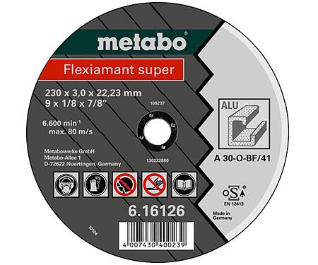 Отрезной круг  METABO Flexiamant super 180 мм (616122000)