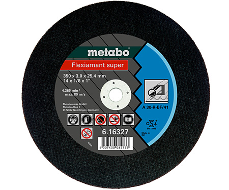 Отрезной круг  METABO Flexiamant super 350 мм (616339000)
