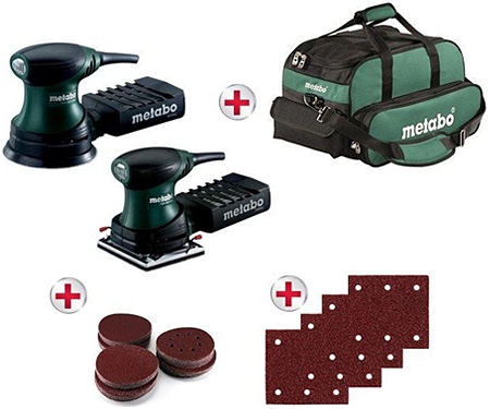 Набор инструментов METABO FSR + FSX 200 + сумка