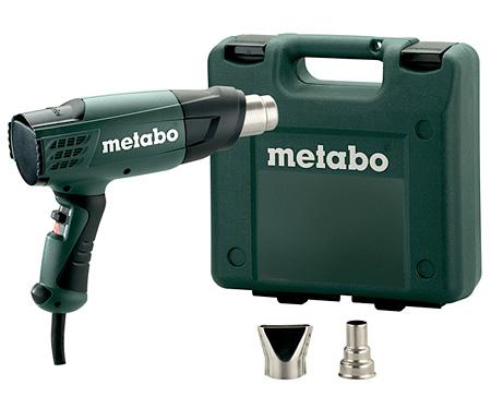 Строительный фен METABO H 16-500 + кейс