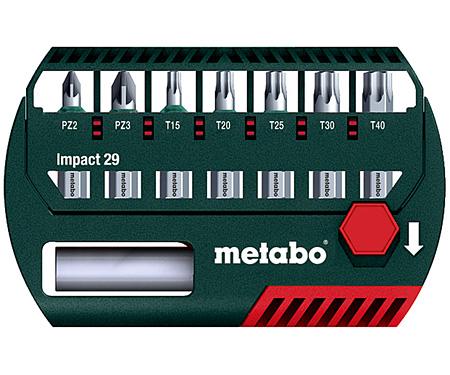 Набор бит METABO Impact 29