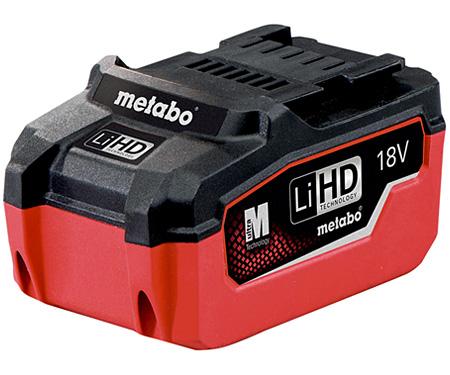 Аккумуляторный блок METABO LiHD 18 В - 5,5 Ач
