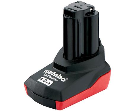 Аккумуляторный блок METABO Li-Ion 10,8 В - 4,0 Ач