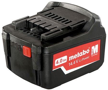 Аккумуляторный блок METABO Li-Ion 14,4 В - 4,0 Ач