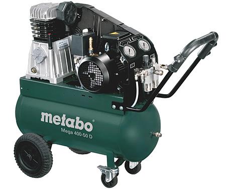 Компрессор METABO Mega 400-50 D