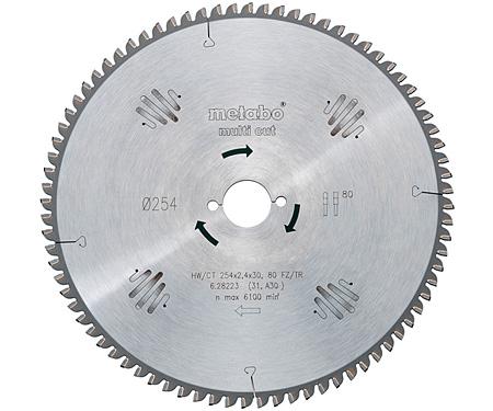 Пильный диск METABO Multi Cut 190 мм (628077000)