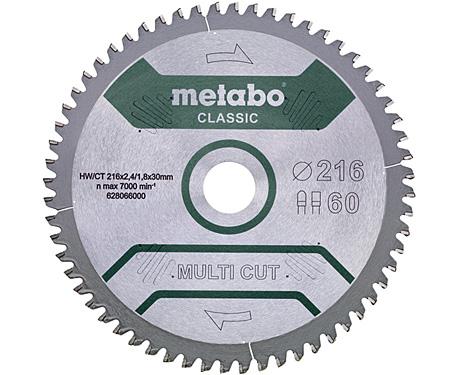 Пильный диск METABO Multi Cut Classic 254 мм (628666000)
