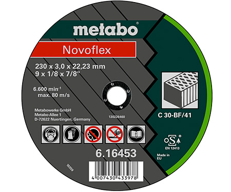 Отрезной круг  METABO Novoflex 150 мм (616449000)