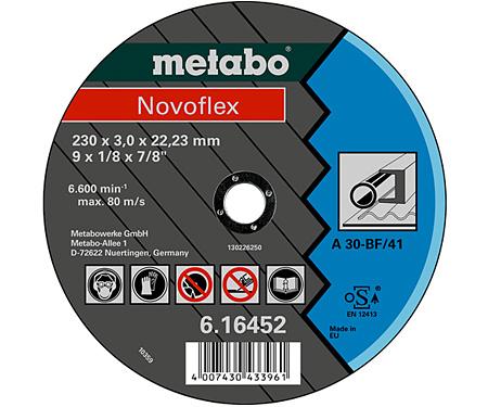 Отрезной круг  METABO Novoflex 230 мм (616452000)