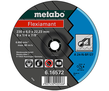 Обдирочный круг METABO Flexiamant 180 мм (616561000)
