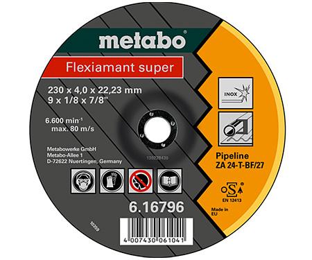 Обдирочный круг METABO Flexiamant Super 180 мм (616795000)