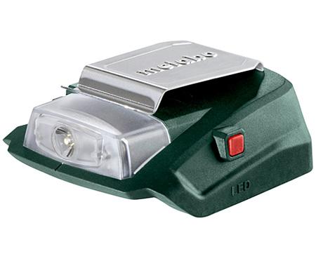 Аккумуляторный адаптер питания METABO PA 14.4-18 LED-USB