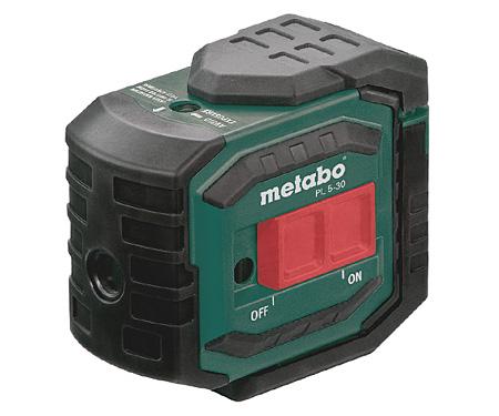 Точечный лазерный нивелир METABO PL 5-30