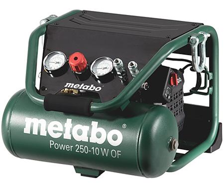 Безмасляный компрессор METABO Power 250-10 W OF