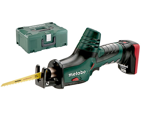 Аккумуляторная сабельная пила METABO PowerMaxx ASE MetaLoc