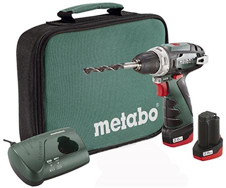 Аккумуляторный шуруповерт METABO PowerMaxx BS