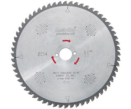 Пильный диск METABO Precision Cut 254 мм (628221000)