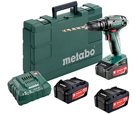 Аккумуляторный шуруповерт METABO SB 18 Set