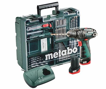 Аккумуляторный шуруповерт METABO PowerMaxx SB Set