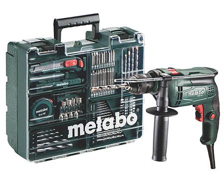 Ударная дрель METABO SBE 650 SET